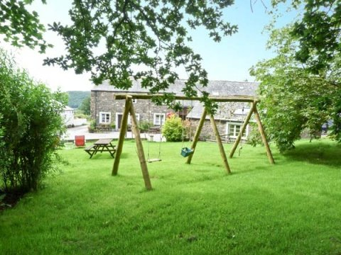 Uldale - Swings in the garden