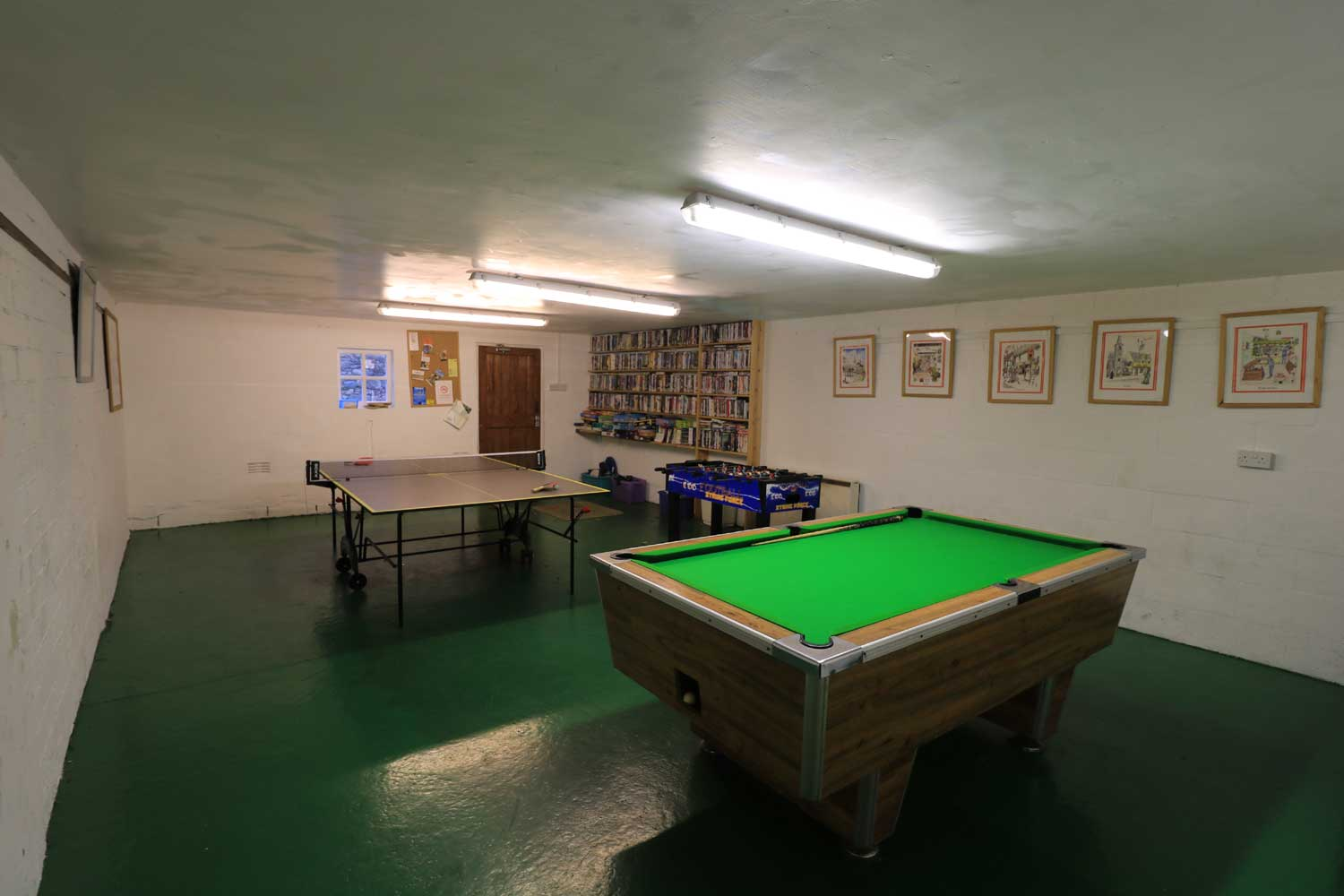 The Games Room At Melbecks Cottages, Bassenthwaite